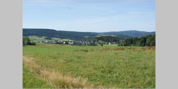 Blick zum Auersberg