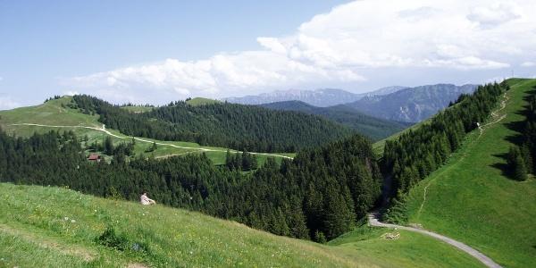 Fernwanderweg Meditationsweg Ammergauer Alpen - am Hörnle