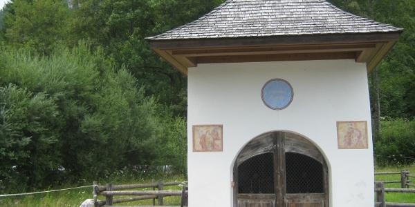Die Antonikapelle in Hintersee.