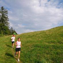 Downhill hinter der Siedelalpe
