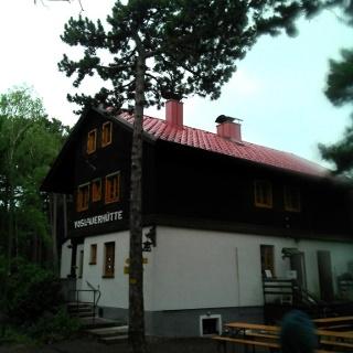 Die Vöslauerhütte am Mariazeller Zwickl
