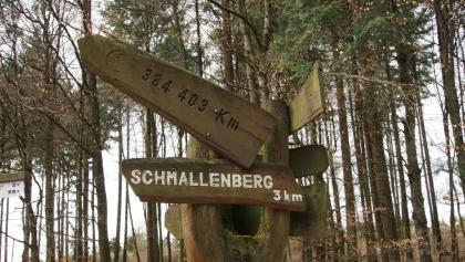 Mondhandweiser zwischen Bad Fredeburg und Schmallenberg