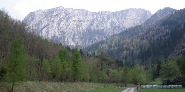 Die Kahlmäuer vom Reißbachtal