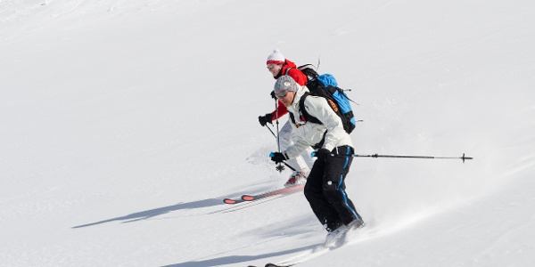 Skitouren Abfahrt