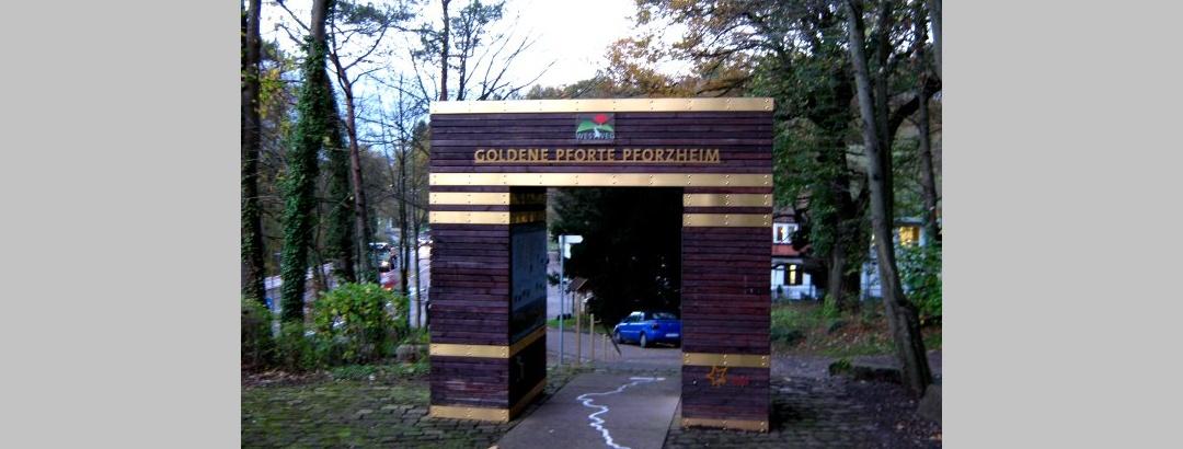 Goldene Pforte beim Kupferhammer in Pforzheim