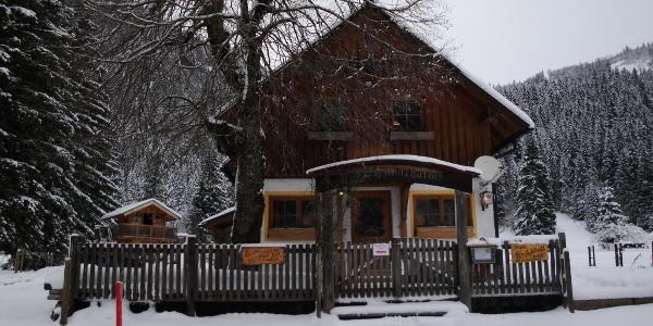 Rettenbachalm im Winter