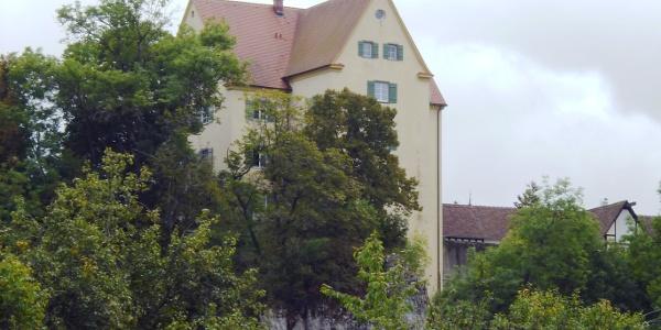 Blick auf Schloss Gutenstein