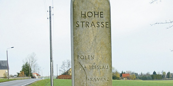 Hohe Straße in Merschwitz