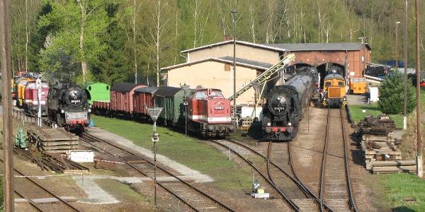 Eisenbahnmuseum Schwarzenberg, Erzgebirge