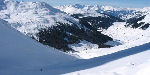 Riedchopf 2552m Aufstieg