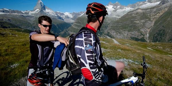 On the bike trail below Blauherd