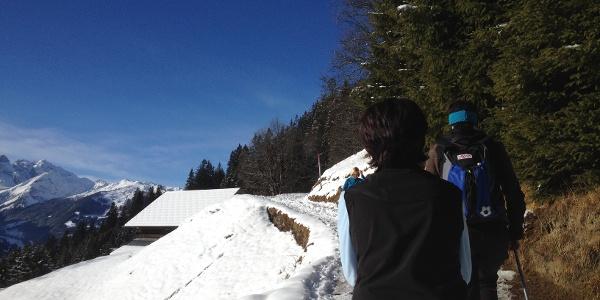Winterwandern in Bartholomäberg