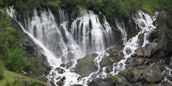 Die Siebenbrunnen, die sieben Quellen der Simme.