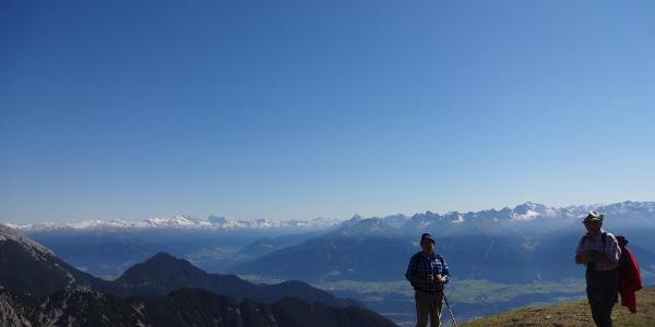 Blick Südosten Stubaier Alpen