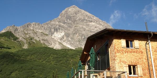 Saulakopf von der Heinrich Hueter Hütte aus
