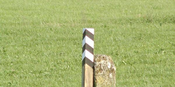 Grenzpfosten Gemarkung Hohenzollern