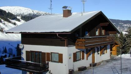 Winter Ansicht Haus