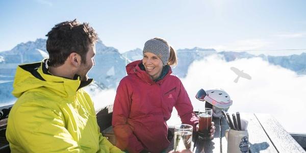 Gipfelstuba Walmendingerhorn Restaurant