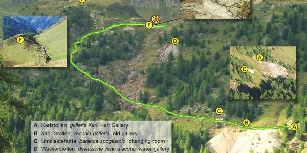 Infopunkt 3 am Gletscherschliff in Seemoos