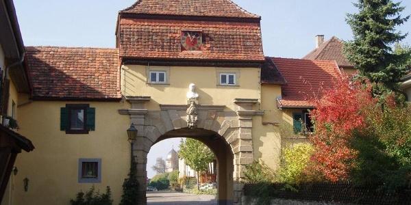 Riedbacher Tor in Schrozberg-Bartenstein