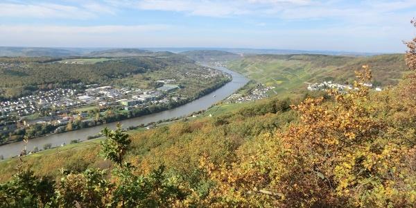 Panorama vom Aussichtspunkt Maria Zill