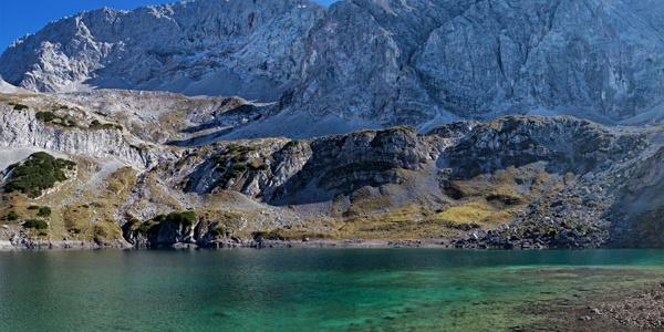 Drachensee bei der Coburger Hütte