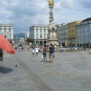 Linz unser Startpunkt heute