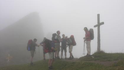 Col du Jorat im Nebel