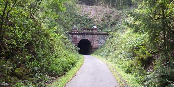 Tunnel auf dem Ruhr-Sieg-Radweg