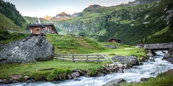 Aufstieg zur Regensburger Hütte