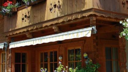 Ferienhaus Hintermair Terrasse