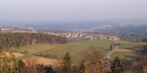 Blick vom Aussichtsturm