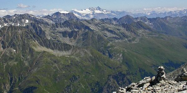Großglockner gesehen vom Almerhorn