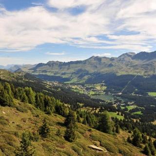 Panoramablick über die Ferienregion Lenzerheide