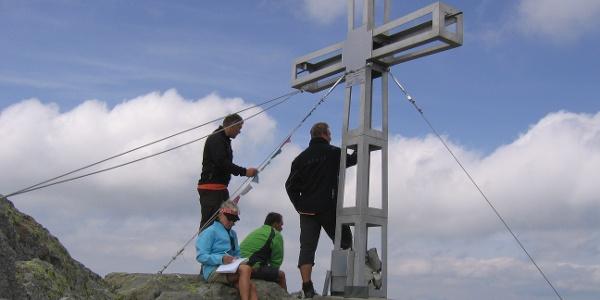 Der Gipfel der Westlichen Plattenspitze.