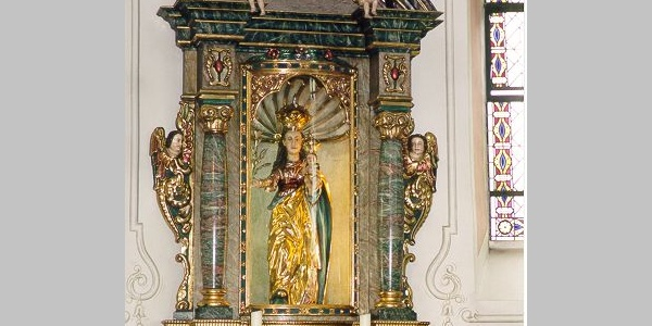 Muttergottes in der Wallfahrtskirche Barweiler