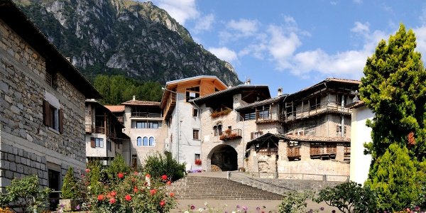 Das Dorf Rango zählt zu den schönsten Italiens
