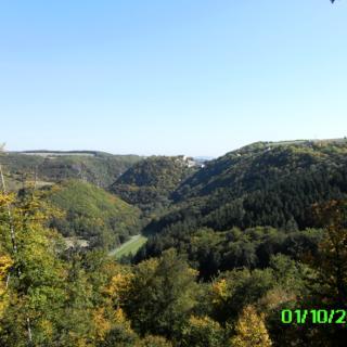 Blick auf Schloss Dhaun