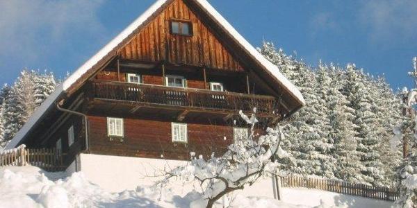 Grubbauernhof im Winter