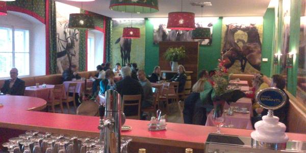 Café Caballero - Theke
