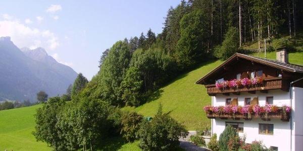 Alpenbauernhof Gröbenhof Hausansicht 2