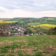 Weiterer Blick vom Feltenturm. Frühjahr 2014