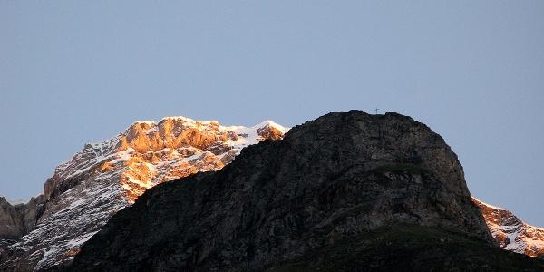 Der Grosse Kastel oberhalb von Randa