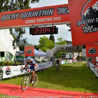 L'arrivo della Bike Marathon